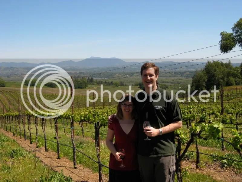 Among the vines