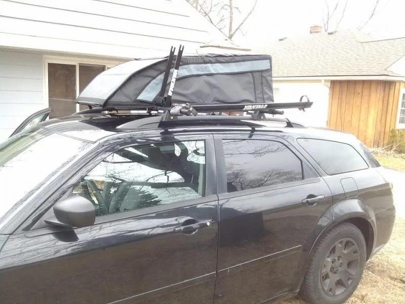 roof racks cross bar question