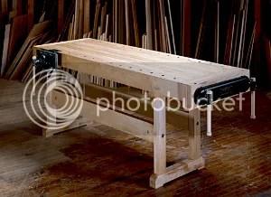 woodworking workbench build