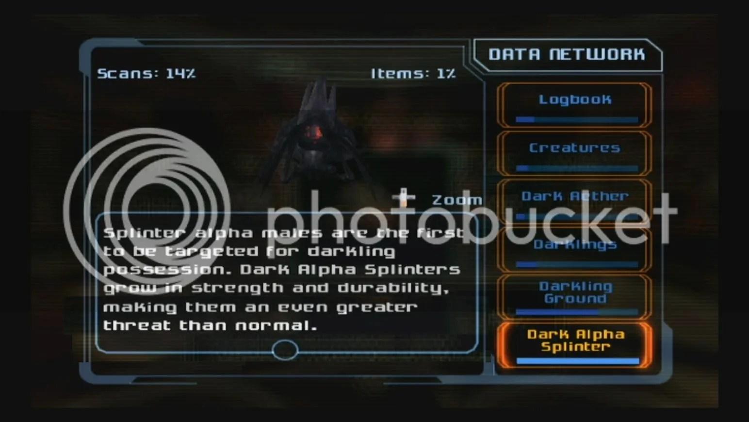 Dark Alpha Splinter