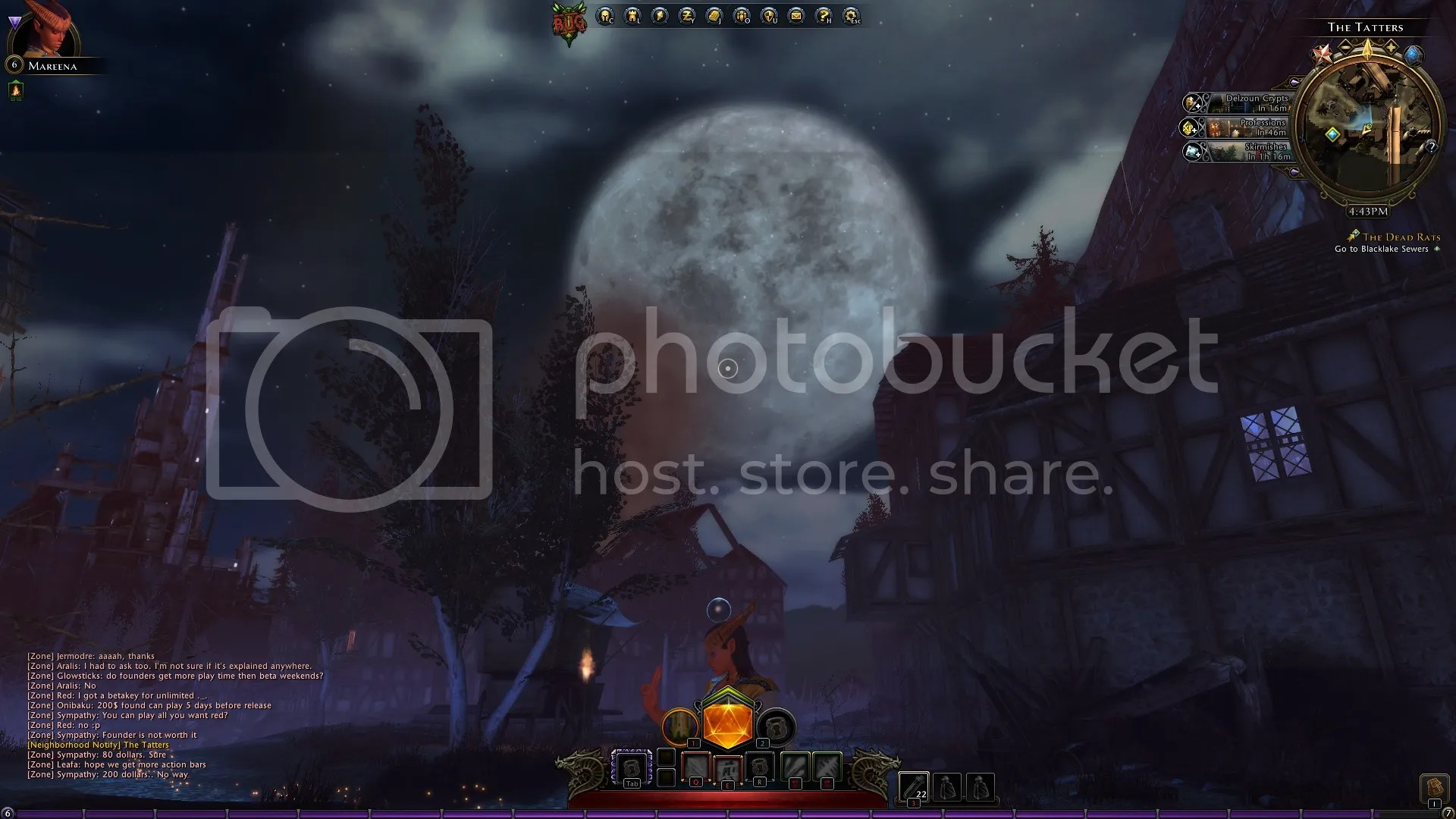 That is one huge, cruel, cruel moon.