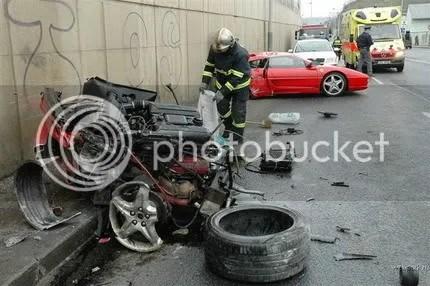 Accidente Ferrari F355