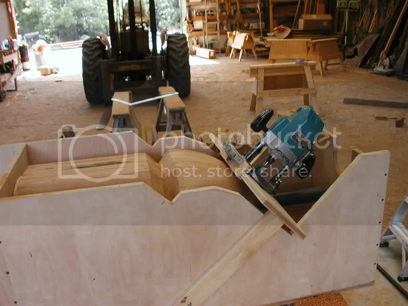 Cutting A Tight Radius On The End Of Beams