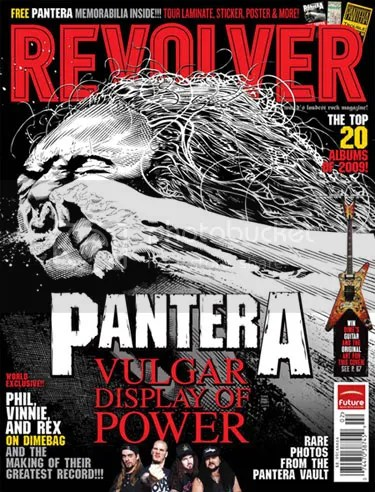 Tim Bradstreet's Pantera cover for Revolver magazine
