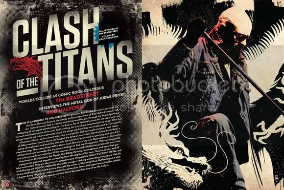Tim Bradstreet Rob Halford interview