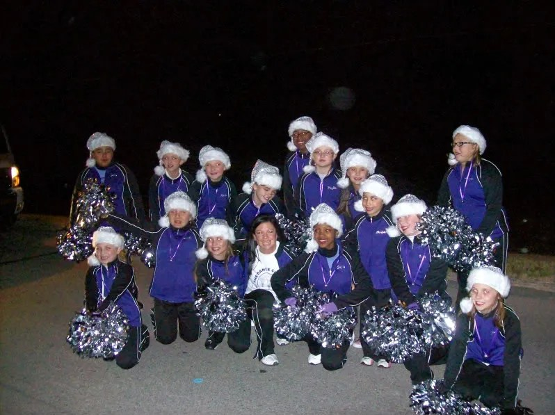 parade; christmas; marching; performing; team