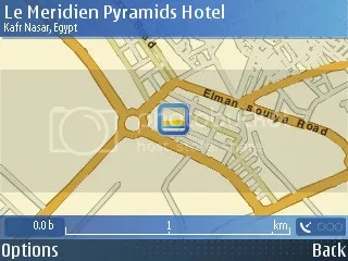 Le Meridien Pyramids on Nokia Maps