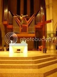 WYD Cross & Icon on Sanctuary