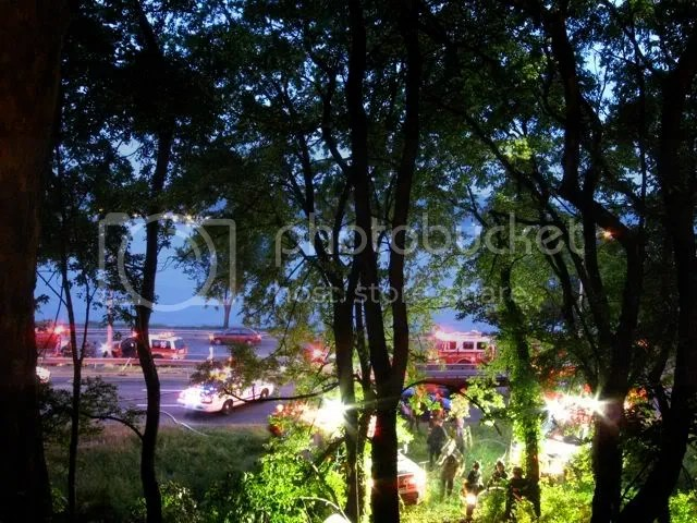 accident scene, henry hudson parkway near 116, may 23