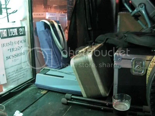 bags in a bar