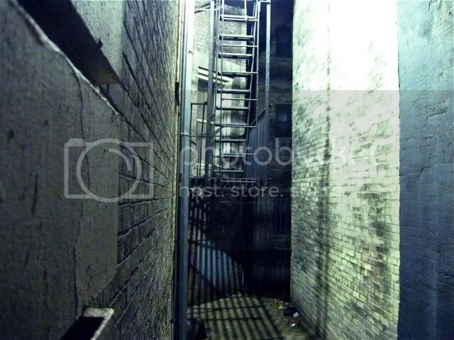 fire escape alley