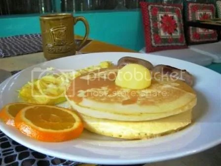 Sunrise breakfast. Php 275.