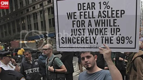 Just woke up - Occupy Wall St