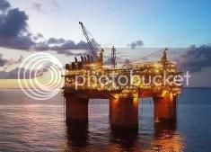Oil Platform - Day