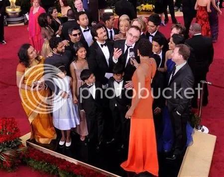 Attori e regista alla premiazione Oscar 2009