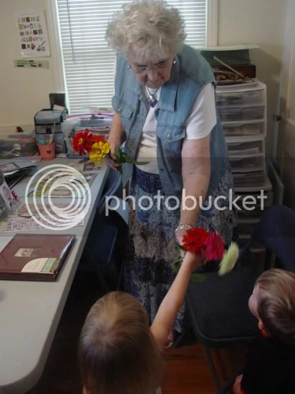 Flowers for Nana