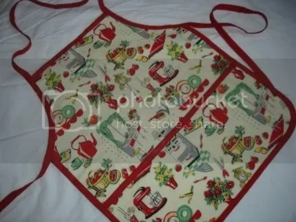 Retro Fifties Kitchen Toddler Apron
