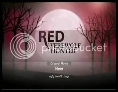 red werewolf hunter movie