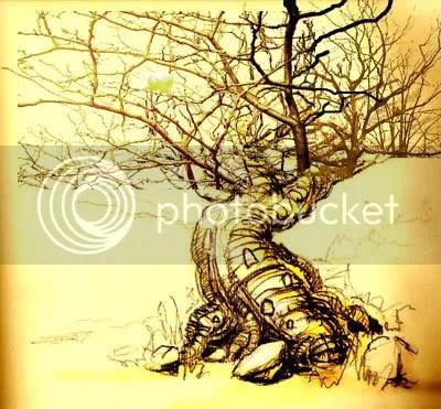 Photoshopped tree
