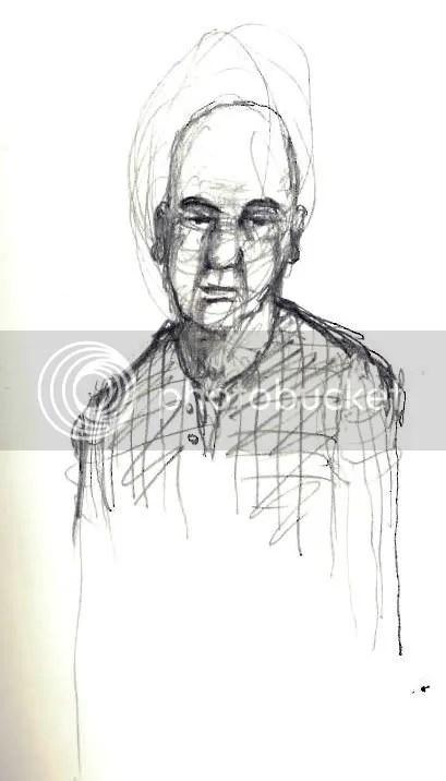 flannel shirt sketch