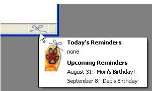Anteprima di ReminderFox