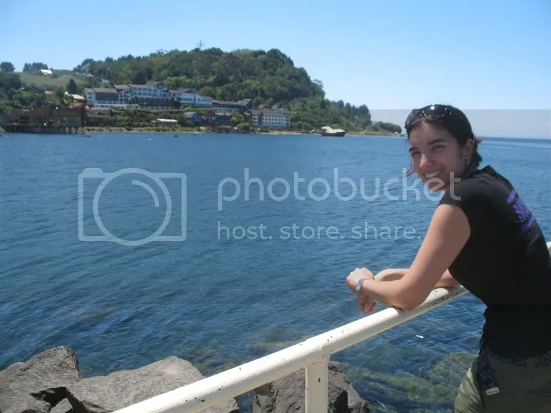 Thats me at Lake Llanquihue, the third largest lake in South America.