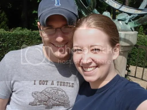 Dave and Megan at Busch Gardens