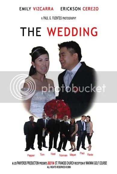 Erickson and Emily Wedding,Wedding