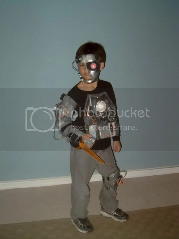 cyborg boy costume
