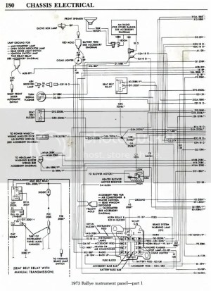 Need 1973 Duster wiring diagrams please! | Moparts
