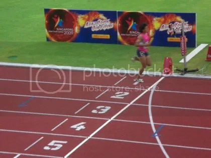 No Contest - Yuadthong Benjamas (Thailand) wins the Girls 4x200M Relay with almost 3 seconds advantage over Japan.