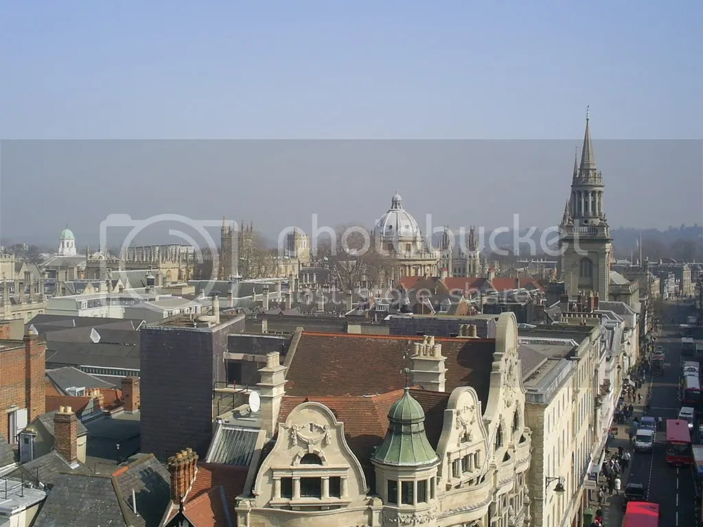 Dreaming Spires from Carfax tower
