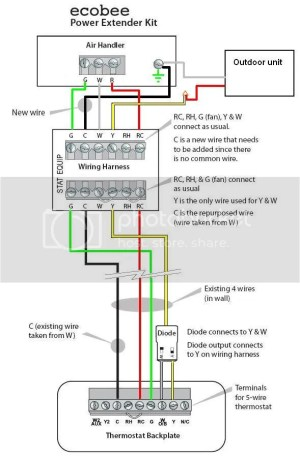 Wiring for my furnace  mon wire possible problem