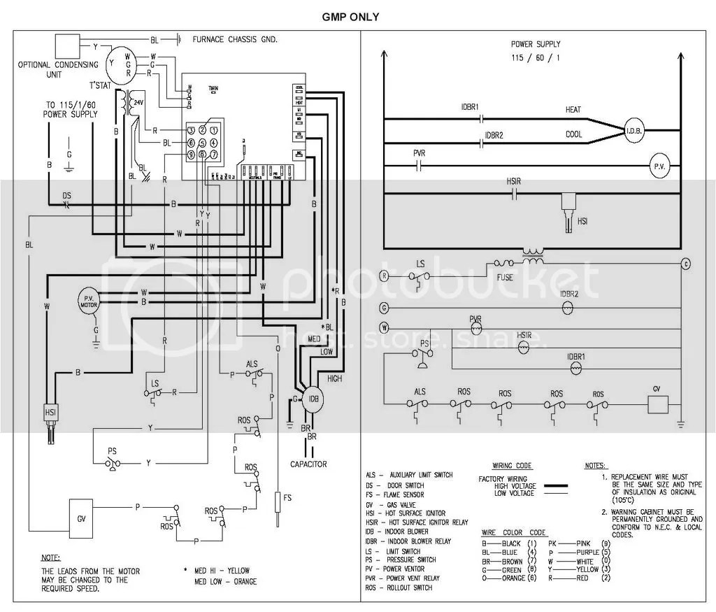 Help Installing New Circuit Board In Goodman Gmp 125 5