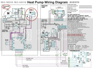 Heat pump pressor Fan wiring  DoItYourself