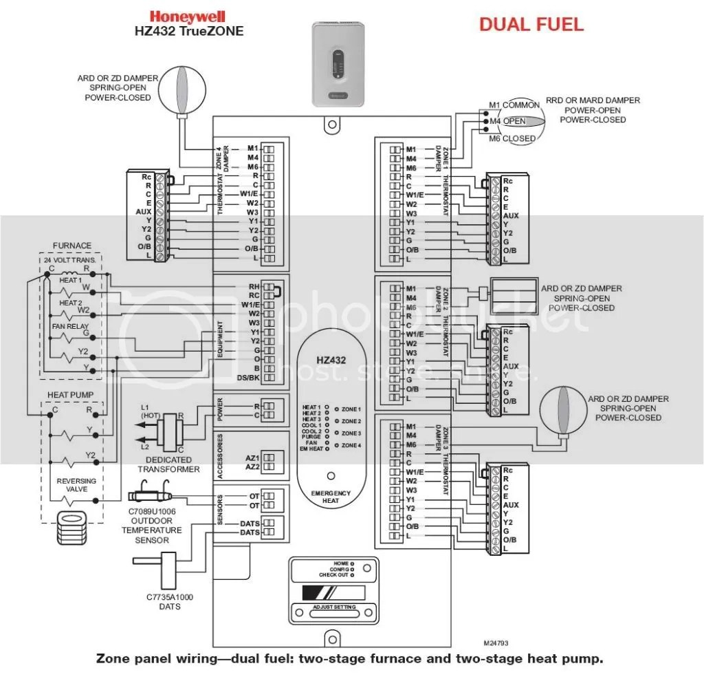 For A Honeywell Thermostat Rth B Wiring Diagram