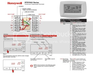 Honeywell T8411R to RTH7600 Wiring Question  DoItYourself