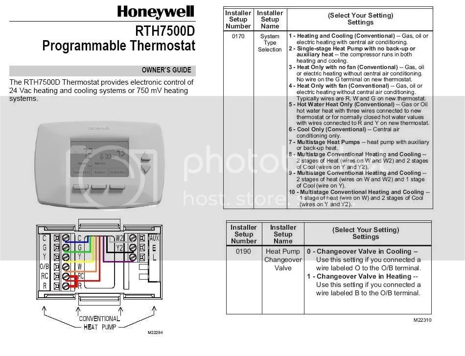 Replacing Honeywell T R With Programmable
