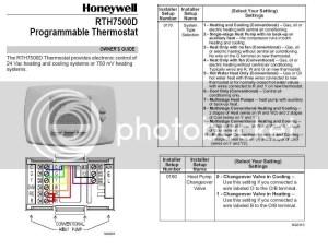 Weathertron to Honeywell  unusual wiring  DoItYourself