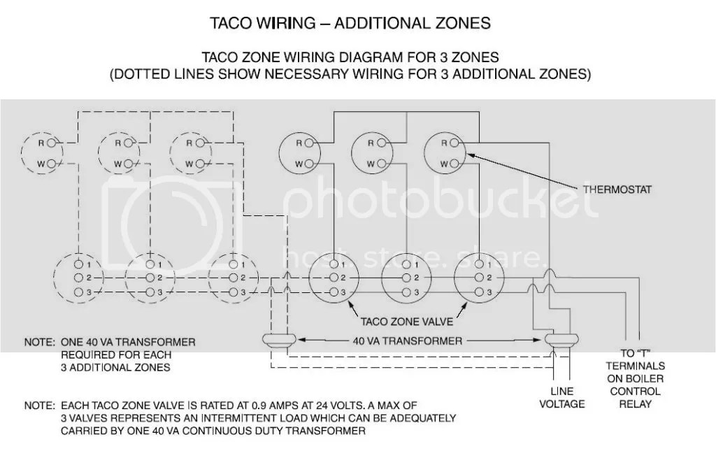 Amazing Taco Zone Valve Wiring Diagram 555 24 Volt Images