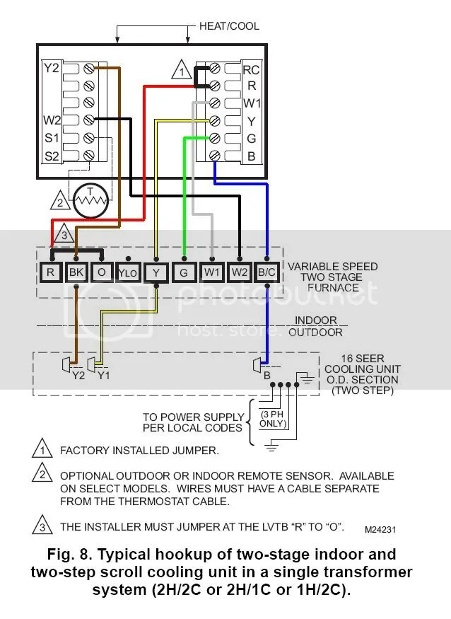 Trane Heat Pump Thermostat Diagram Wiring Schemes furthermore Honeywell Heat Cool Thermostat Wiring Diagram together with How Do I Identify The C Terminal On My Hvac moreover Radiant Heat Wiring Diagram also Trane Xl 1200 Service Manual Electrical tempower. on trane heat pump installation manual
