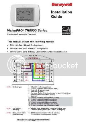 Installing Honeywell RTH7500D Thermostat  DoItYourself