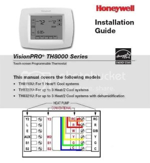 Honeywell Rth3100c Thermostat Wiring Diagram  Somurich