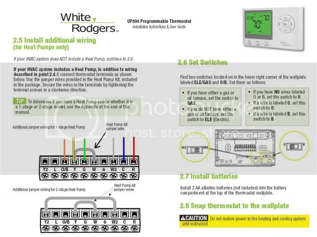 white rodgers up300 thermostat wiring diagram wiring library