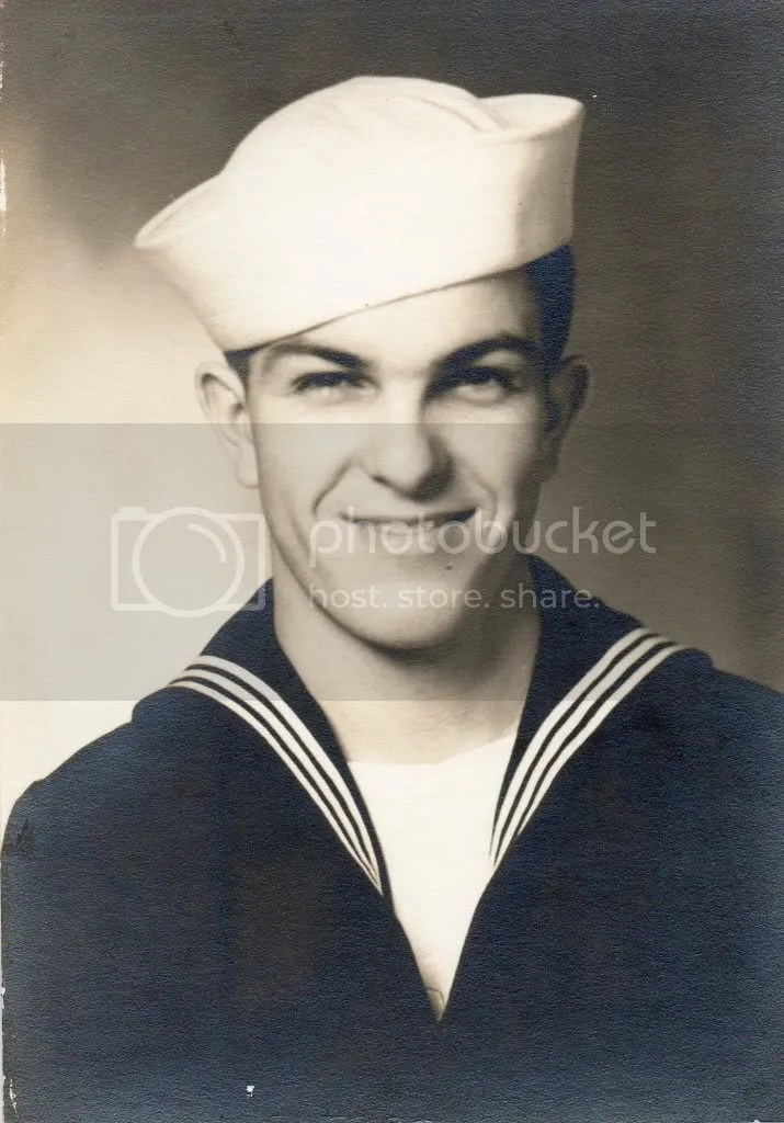 George Carris in the US Navy