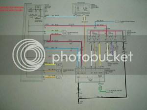 2005 power windows switch wiring diagram | S197 Mustang