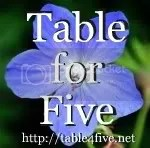 Table for Five blog button