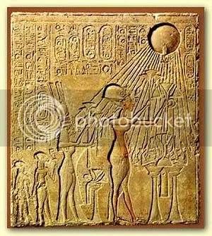 Aten - Egyptian monotheism