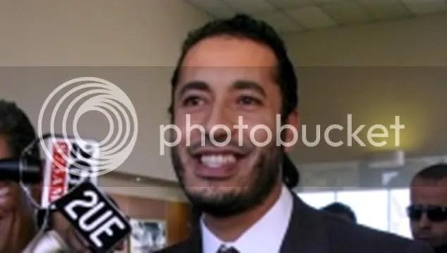 Gaddafi's son Saadi