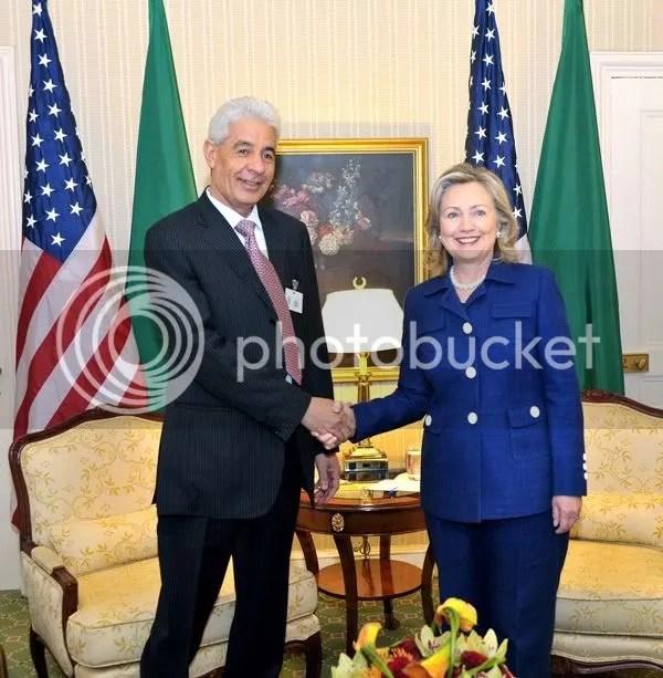 Musa Kusa, Libyan foreign minister,
